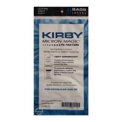 Original Kirby Filtertüten 9er Pack Modelle G4 - G5 auch passend für G6 G7 G8 G10