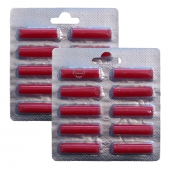 2 x 10 Duftstäbchen Duft Rose für viele Staubsauger > Kirby / AEG / Vorwerk / Miele / Bosch / Lux / Siemens