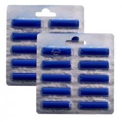 2 x 10 Duftstäbchen Duft Meeresbriese für viele Staubsauger > Kirby / AEG / Vorwerk / Miele / Bosch / Lux / Siemens