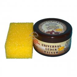 Universal Lederbalsam mit echtem Bienenwachs / Bienen - Wachs 250ml + Schwamm