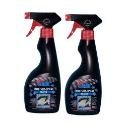 2 x 500ml Klaro Car Enteiser Spray /  De - Icer