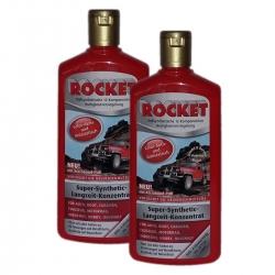 2 x 500ml Autopolitur ROCKET Politur Color - Aktiv Langzeit - Konzentrat Rote Flasche