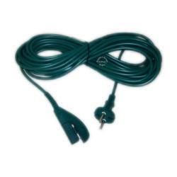 10 Meter Kabel / Netzkabel / Anschlusskabel / Stromkabel für Vorwerk Kobold 135 - 136
